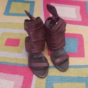 Preview International Chocolate Brown Heels
